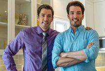 The Scott Brothers / Jonathan and Drew Scott / by Heather Hannah