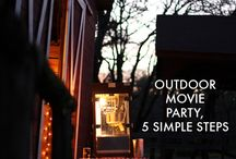 outside movie party / by Sherry Suttle