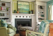 Decorating a mantel / by kellydesignsofCT