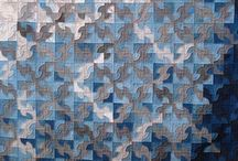 Blue Quilts / by Michele