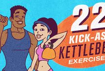 Kettlebells / by Lori Lanham @Get Fit Naturally