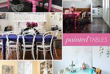 Painted furniture / by Shavonda Gardner {AHomeFullOfColor}