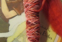 Hand Spun Yarn - Mine And Resources (and a little eye candy) / by Sandy Kemp Ⓥ