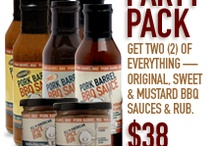 Awesome Products / Our favorite products from the world of food! / by Pork Barrel BBQ