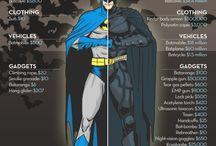 TSL Loves Superheroes / by TShirt Laundry
