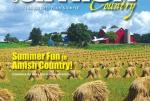 Magazine Covers / Every season, we put another new issue of Ohio's Amish Country magazine on the stands. Our covers capture the essence of the area - showcasing the picturesque beauty we all know and love. Find us online at www.OhiosAmishCountry.com today! / by Ohio's Amish Country