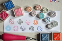 Hand Carved / Cut Stamps / by Robin Johnson