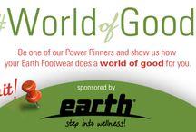 #WorldofGood with Ashley Whipple / by Earth Footwear