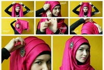 Hijabi Diaries / Tutorials, inspiration, and humor / by Misty Vowell