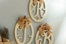 Monogram Shop / Add a personal touch to your home decor with our monogram shop! / by Kirkland's Home Décor & Gifts