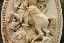 Saint George the Dragon Slayer. / by Ancient Circles