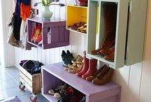 Storage ideas / by Molly Forbes