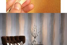 Snazzy paint jobs / Wall painting technique ideas / by DeAnne Clifton