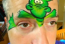Face painting dragons / by The Face Painting School