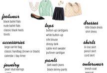 Wardrobe ideas / by Ruth Horstman