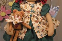 Fabric dolls / by SWEET PATCHWORK