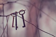 Keys / The key to everything. / by Scarlet Blue