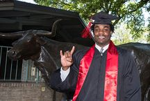 2014 Spring Commencement / UT Athletics congratulates 89 current and former UT student-athletes receiving their degrees in the spring and summer semesters. Hook 'em, Horns! #UTgrad / by Texas Longhorns