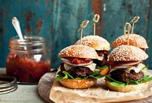 Burgers and Sliders /   / by Foodista