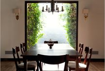 home | kitchen & dining / The rooms where food preparation, eating and visiting happen. / by Taryn H