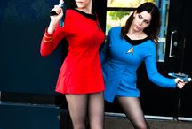 Me and Sam Star Trek Costumes / by Kelly Carnes