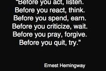 Words of Wisdom / by Brooke Kelly