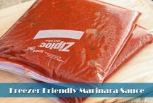 Recipes to try - freezer meals / by Heidi Stello