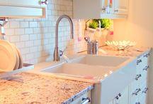Kitchen makeover / by Susan Matney