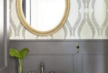bathroom overhaul ideas / by Casie Beldo