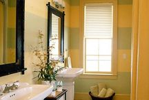 ideas for bathroom  / by Jessica Snowberger