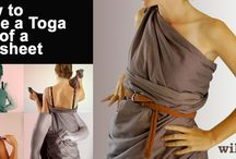 Togas! for Lysistrata / by Steph Errante