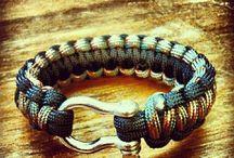 Paracord Bracelets / by Kathy Smith
