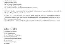 Freezer Meals / by Jeanna Bohanon