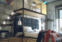 [design] bedrooms / by Gabriela Montero