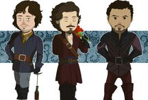All Geekness Great and Small - The Musketeers / by Kiddý Ámundadóttir