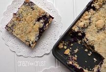 Food - Slab Pies / Rustic Pies made on a cookie sheet or folded over. Not made in a pan / by Miss Information