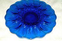 Glass~Cobalt / Blue glass / by Wanda Regier