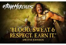 Team Hercules / Join the ranks and be part of #TeamHercules. Follow Dwayne Johnson's epic guide to becoming a warrior like Hercules, and be sure to keep him updated on your progress by submitting your photos with #TeamHercules. Visit http://www.teamhercules.com/.   / by Paramount Pictures