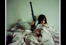 guns and women / guns are interesting/dangerous/controversial..put them with women, well...:) / by Leslie williams