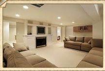 Basement Design Ideas / by Charlie Hutchinson