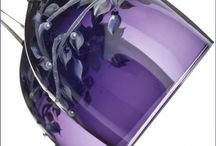 PASSIONATELY PURPLE GLASS / by Judy Duranceau Wallace