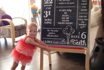 1st bday ideas / by Brittany Barr