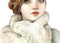 Illustration / by Celeste Galtry