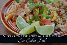 52 ways to save money on a healthy diet  / by Kimberly Harris (TheNourishingGourmet.com)