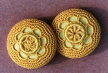buttons--hand made / by Michele Tibbetts