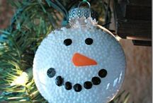 CHRISTMAS DIY ORNAMENTS / #christmas #tree #ornaments #holiday #winter #diy #craft / by M B