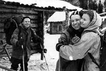 DYATLOV PASS 1959 / The Dyatlov Pass incident generally refers to the mysterious deaths of nine ski hikers in the northern Ural mountains on the night of February 2, 1959. / by Lucy Reynolds