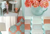 Turquoise and Coral ♥ / by Bethany Shaw