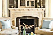 Fireplaces / by Jessi Walton