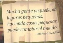Citas de escritores.  / by Beatriz Biblioteca